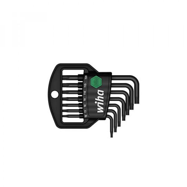 Набор штифтовых ключей(воронение) TORX в держ. Classic (8 предм.)