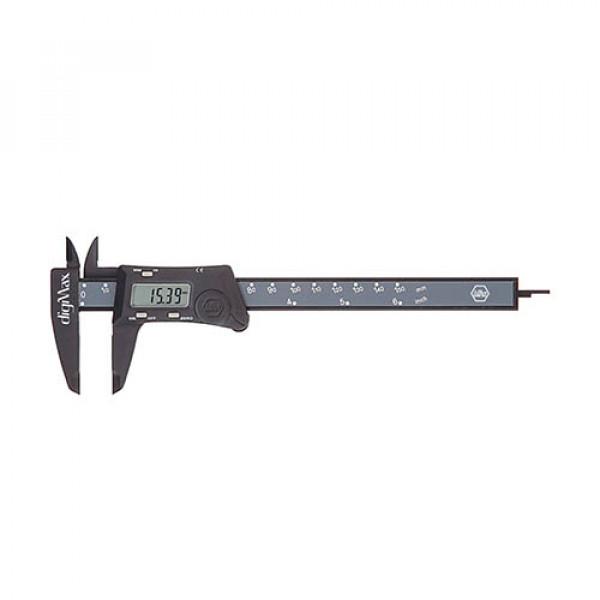 Штангенциркуль с цифровой шкалой digMax, точность 0.01мм, до 150мм