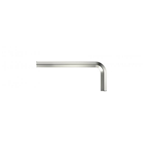 Штифтовый ключ HEX1/4x90 никелирование