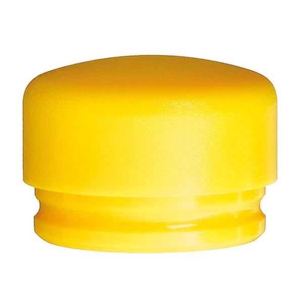 Сменная головка для молотка, жёлтая Ø80мм, средн твёрдости