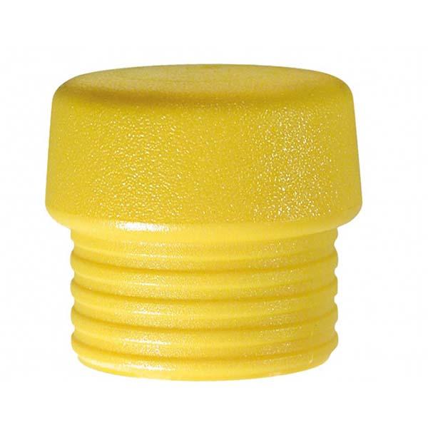 Сменная головка для молотка Safety, жёлтая Ø30мм, средн твёрдости