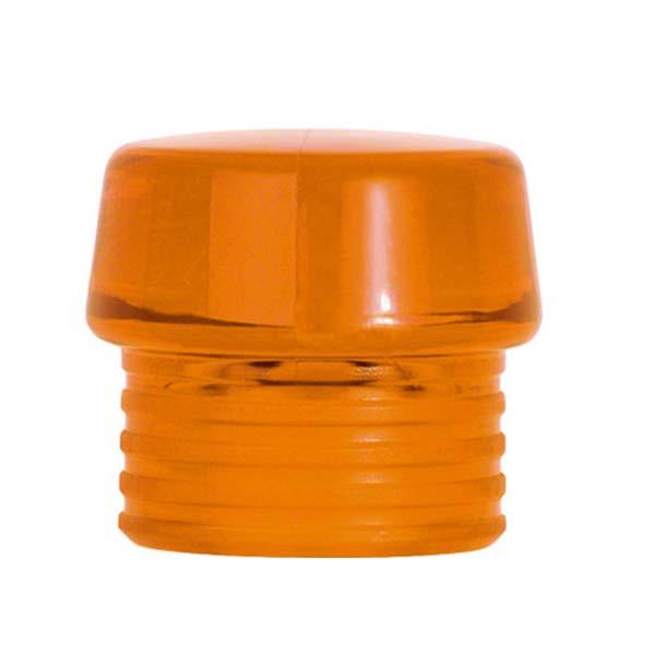 Сменная головка для молотка прозрачная для молотка Safety, оранжевая Ø40мм, твёрдая