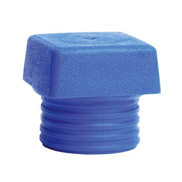 Сменная головка для молотка с мягким бойком Safety, мягкая, четырехгранная