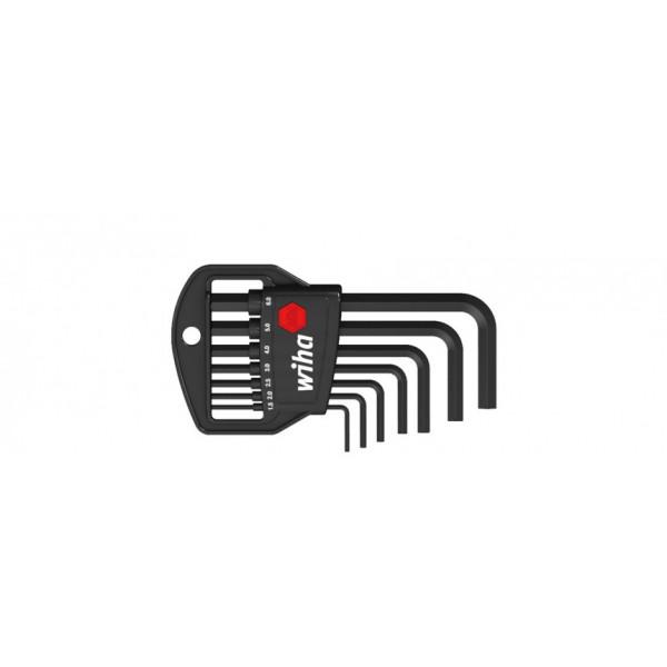 Набор штифтовых ключей(воронёные) в держателе Classic (7 предметов)