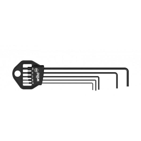Набор штифтовых ключей(воронение) в держателе Classic (5 предм.)