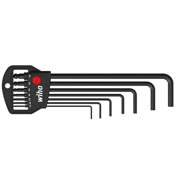 Набор штифтовых ключей со сф. головкой в держателе Classic (7 предм.)